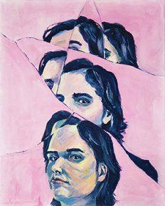 Broken Mirror, by Katty Huertas