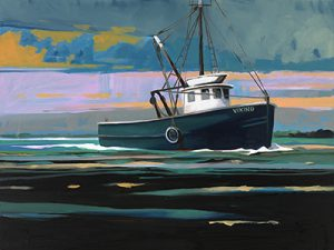 Viking Vineyard Sound, by Rez Williams