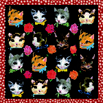 Foulard Chat, by Nathalie Lete