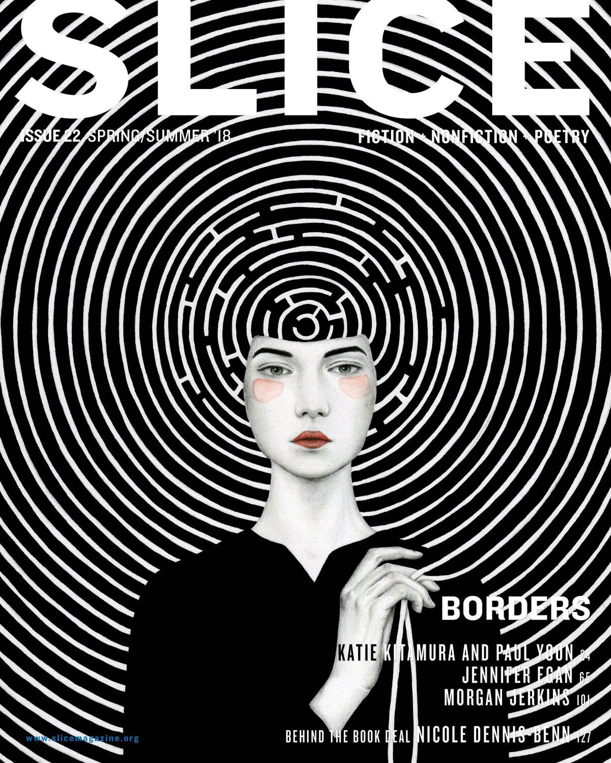 Slice magazine an interview with publishing manager porscha burke subscribe to the blog fandeluxe